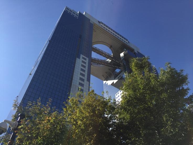 Umeda Sky coronado por el mirador del Jardín Flotante